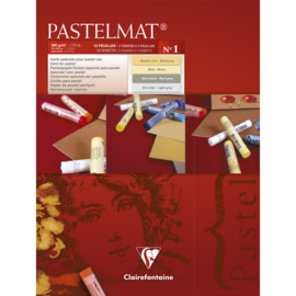 96016C Pastelmat pad n°1 18x24cm 12sh 360g