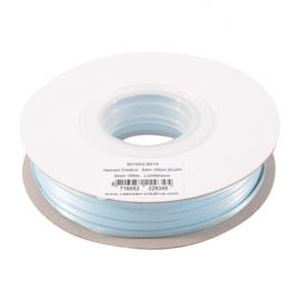 301002-5010 Vaessen Creative • Satijnlint dubbel 3 mm 100m Lichtblauw