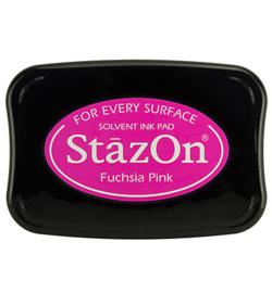 SZ-000-082 Stazon Ink Pad Fuchsia Pink