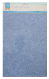 CA3146 Soft glitter paper Blue
