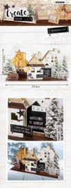 MDFSL55  MDF Set Create Your Life Christmas nr 55