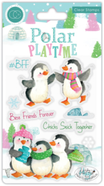 CCSTMP022 Craft Consortium Polar Playtime BFF Clear Stamps