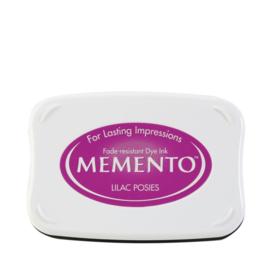 ME-000-501 Memento Ink Pad Lilac Posies