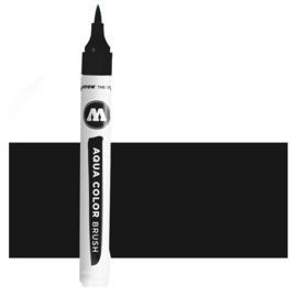 022 Molotow Aqua Color Brush  Deep Black