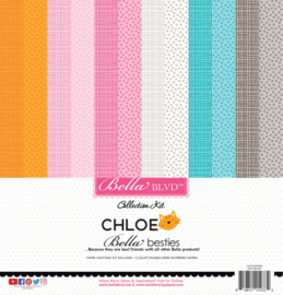 BB2285 Bella BLVD Chloe Bella Besties 12x12 Inch Paper Pack
