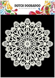 Mask Art Doilies