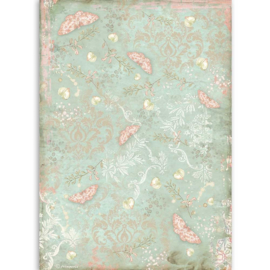 DFSA4509 Stamperia Rice Paper A4 Butterfly