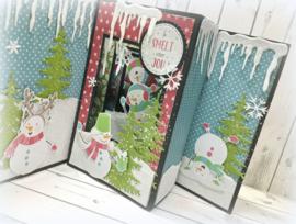 3000/0048 Bella Lulu Knipvel Snowman