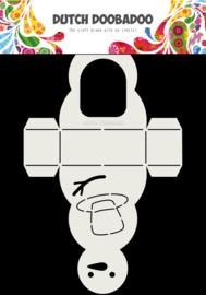 470.713.840 Dutch Box Art Sneeuwpop