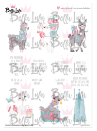 3000/0041 Bella Lulu Knipvel Merry Lama