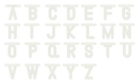 470.990.110 Card Art Alphabet A-Z