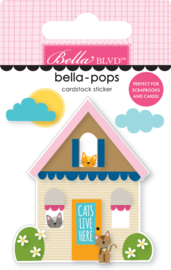 BB2281 Bella BLVD Cat House Bella-Pops (3pcs)