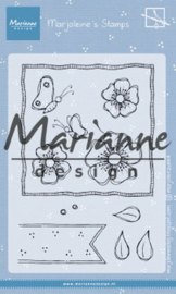 MZ1902 Clearstamp Marjoleine's - Anemones