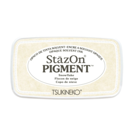 SZ-PIG-001 StazOn pigment ink pad snowflake