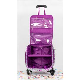 CC-STOR-GEMWHEL Crafter's Companion Gemini Trolley Bag