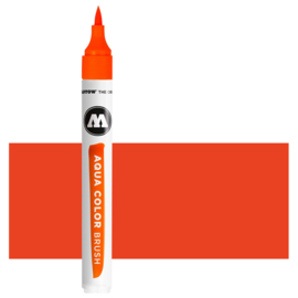 005 Molotow Aqua Color Brush  Vermillion