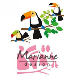 COL1457 Marianne Design Collectables Eline's toucan