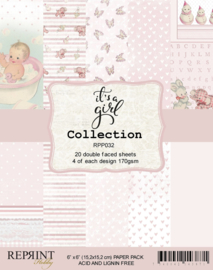 RPP032 Reprint  Collection 6x6 Inch Paper Pack  It´s a Girl