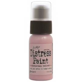 15TDD36494 Tim Holtz distress paint victorin velvet
