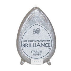 BD-000-093 Dew Drop Brillance Ink Pad Starlight Silver