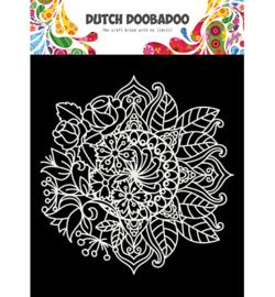 470.715.624 Mask Art Mandala met bloem
