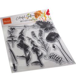 CS1084 Clear Stamp Wild Flowers