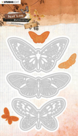 STENCILJL18 Cutting & Emb. DieJournal Butterfly Collection