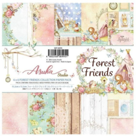MP-58995 Memory Place Forest Friends 6x6 Inch Paper Pack