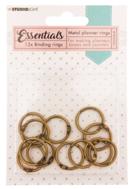 RINGSSL02 Planner Collection - Binding Rings Gold