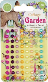CCAPRL002 Craft Consortium Cottage Garden Adhesive Pearls