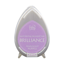 BD-000-036 Dew Drop Brillance Ink Pad Pearlscent Purple
