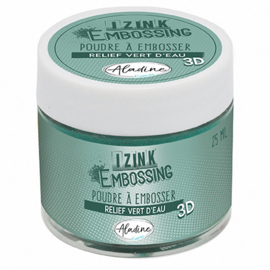 10224AL Aladine Embossing Powder Water Green
