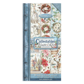 SBBVB07 Stamperia Winter Tales 6x12 Inch Paper Pack