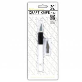 XCU 255100 Xcut No. 1 Craft Knife (Kushgrip)