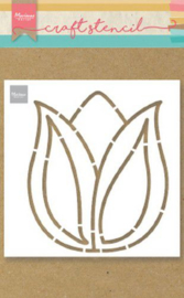 PS8060  Craft Stencil Tulp