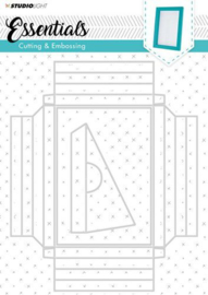 STENCILSL209 SLEmbossing Big Frame Dies Essentials nr.209