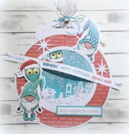 6011/0615 Paper bloc Feliz Navidad