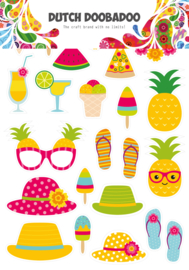 474.007.011 Laser Paper Art Summer elements