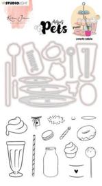 KJ-MBKJ-SCD11 Stamp & Cutting Die Missees By Karin Joan