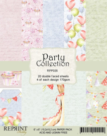 RPP035 Reprint  Collection 6x6 Inch Paper Pack Party