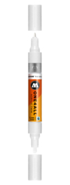 160 ONE4ALL Acrylic twin marker Signal white