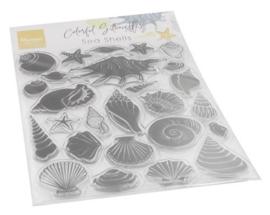 CS1061 Clearstamp - Sea shells