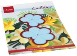 LR0666 Creatables Frangipani-bloem