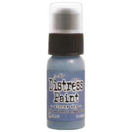 15TDD38603 Tim Holtz distress paint stormy sky