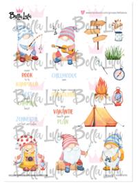 3000/0090 Bella Lulu Knipvel Camping