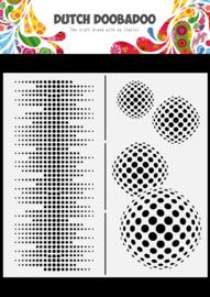 470.784.009 Mask Art Slimline Circles