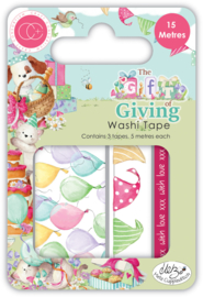 CCWTP006 Craft Consortium The Gift of Giving Washi Tape