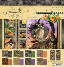 4502283 Graphic 45 12x12 Inch Collection Pack Midnight Tales
