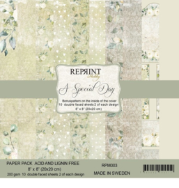 RPM003 Reprint Collection 8x8 Inch Paper Pack  Special Day