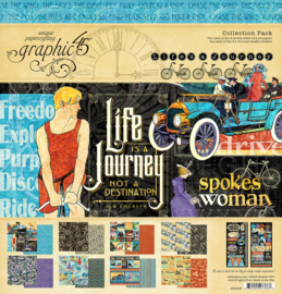 4501946 Graphic 45 Life's a Journey Collection Pack